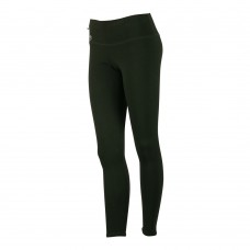 Yogaleggings Skinny Leggings grön